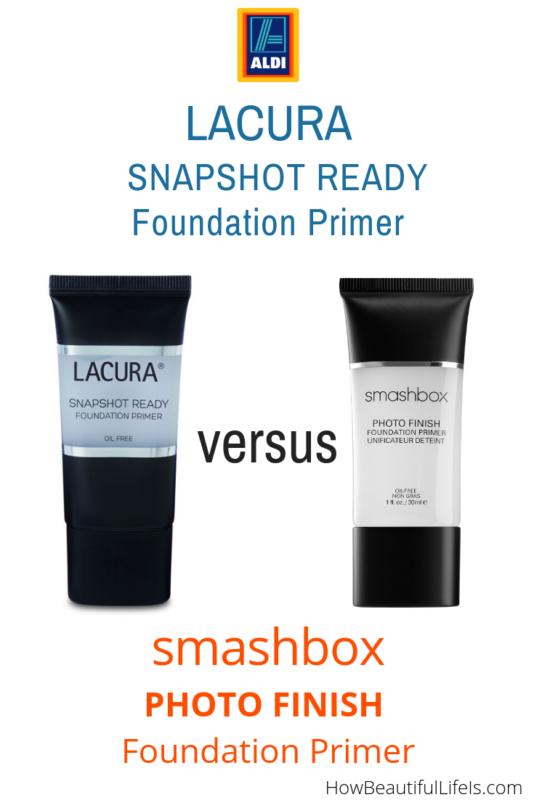 Review Aldi's Lacura Snapshot Ready Foundation Primer