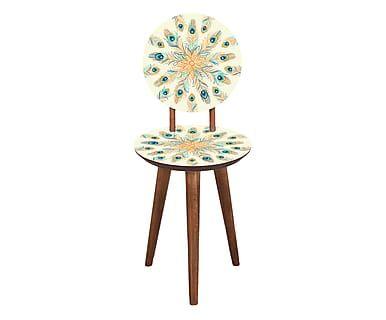 Cadeira Pavão Turco - Off-White
