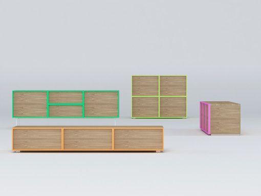 NARA sideboard by OdosDesign for ARLEX