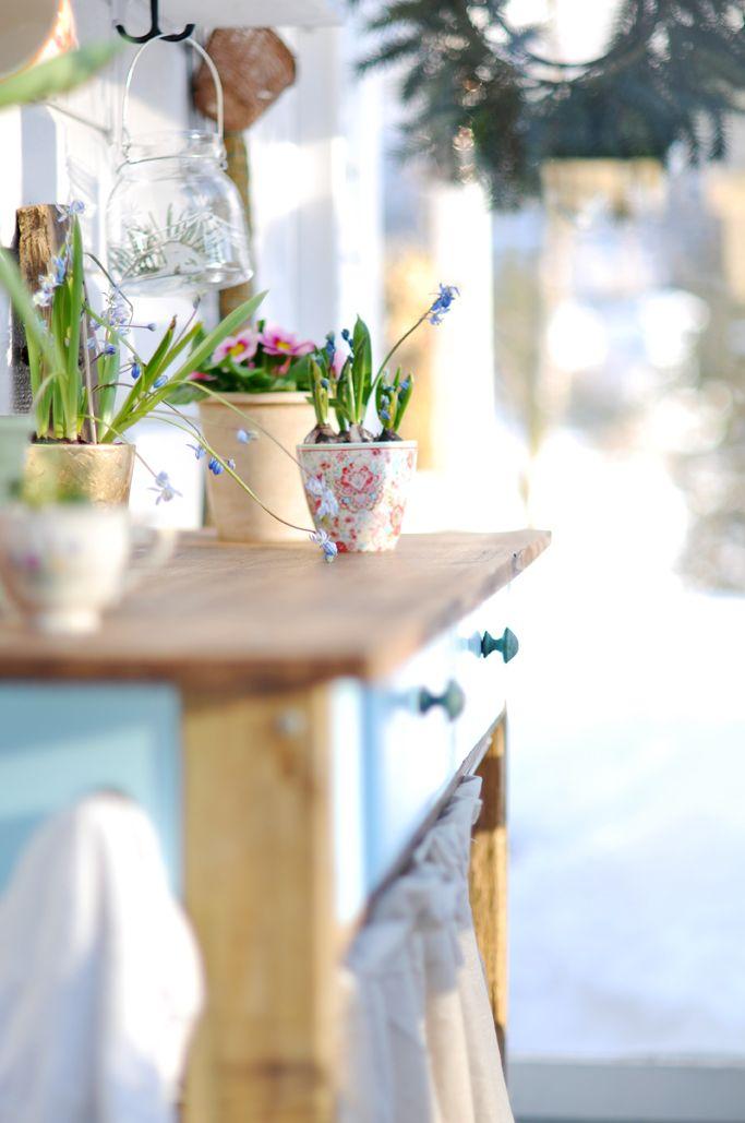 Bratte bakka og grøne lier: Sol i glashuset