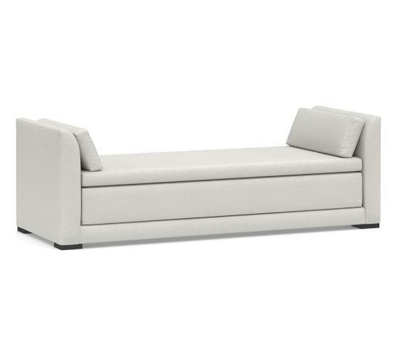Luna Upholstered Daybed Sleeper In 2020 Upholstered