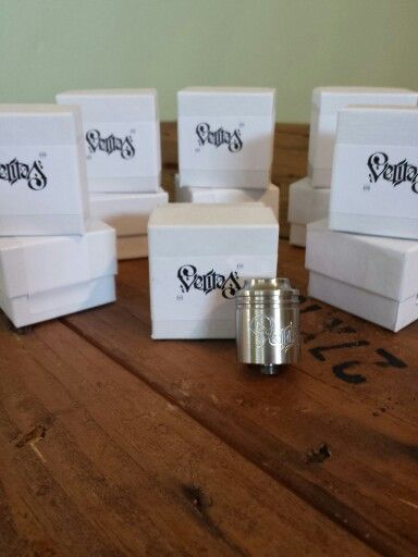 Authentic Veritas RDA now available at Trinity Vapor Lounge, Raleigh, NC.