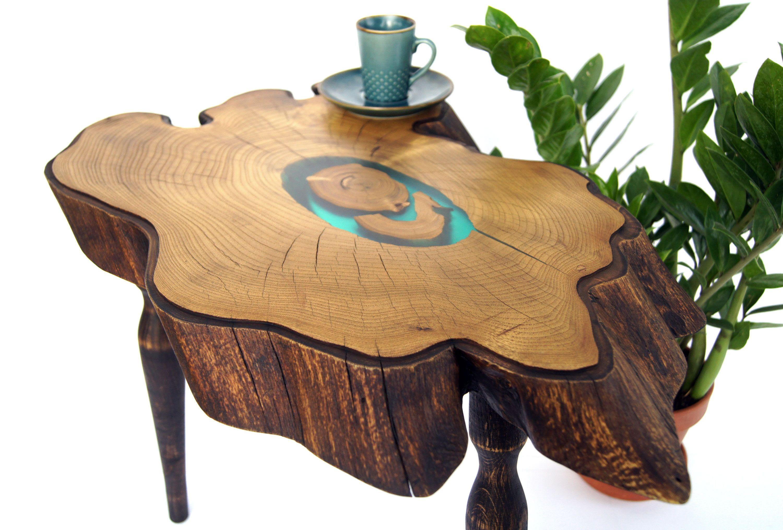 Epoxy Resin Coffee Table Large Live Edge Wood Slab Side Table Etsy Natural Wood Coffee Table Wood Slab Coffee Table Wood [ 2030 x 3000 Pixel ]