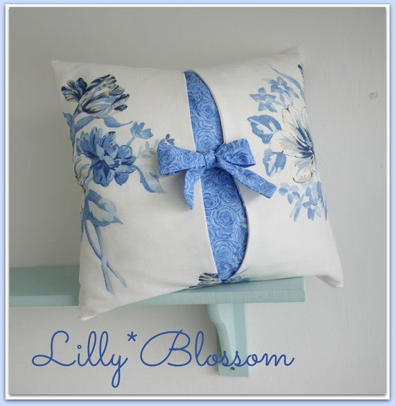 Bow Cushion Cover Sewing Pattern. Ideal beginners project. Very easy ...