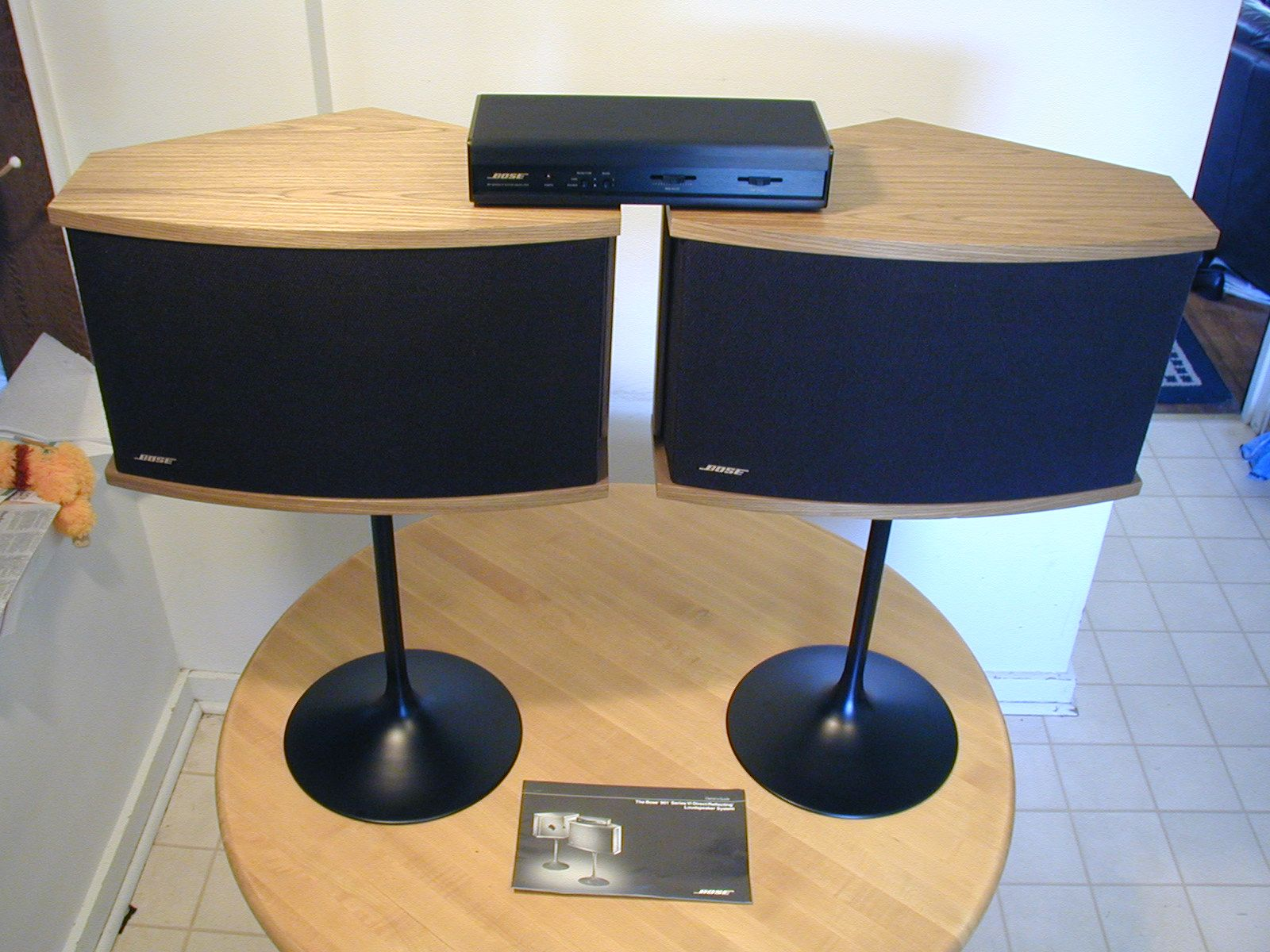 bose 901 series vi speakers vintage newer stereo. Black Bedroom Furniture Sets. Home Design Ideas
