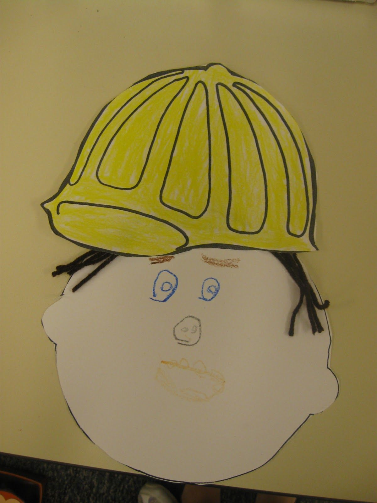 One Face Five Hats Student Can Make His Her Face Color Amp Cut Out Different Hats To Put On