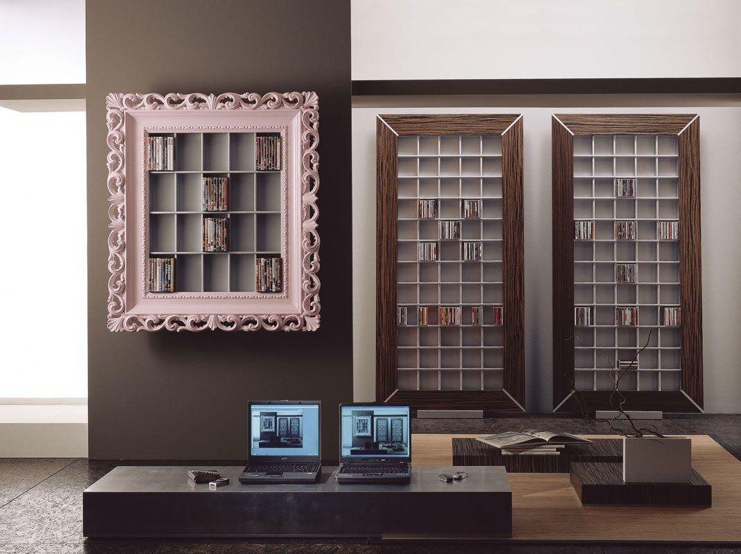 Porta CD e DVD contenitori CD e DVD di design Cornici barocche ...