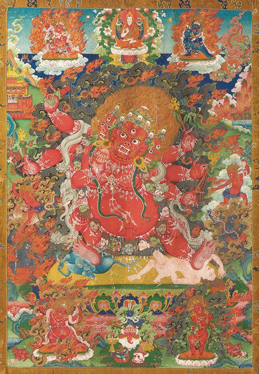 Collecting guide: Teachings of the thangka in 2020   Tibet art. Buddhist art. Tibetan art