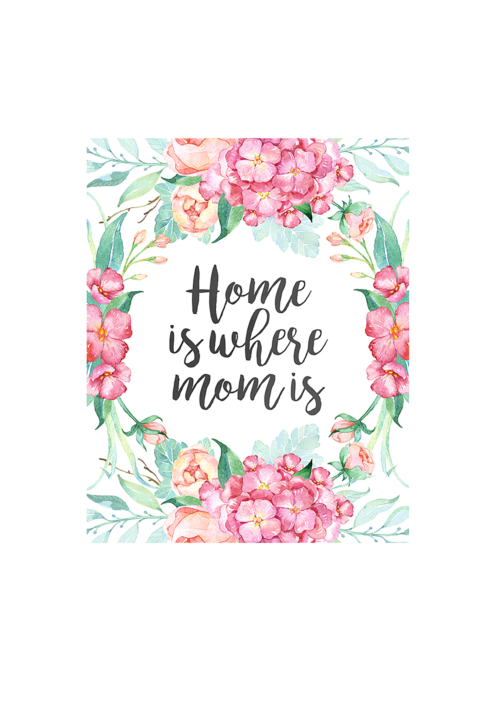 use one of these free printable mother's day cards to tell