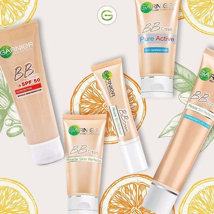 هل تعلمين أن الفيتامين سي يساعد على إنتاج الكولاجين هو ايضا موجود في كريم بي بي غارنييه تاغ صديقتك صاحبة البشرة المشد Natural Skin Pure Products Hair Makeup