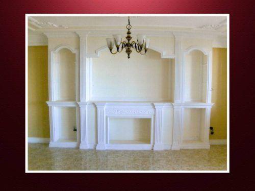 muebles de tv de escayola - Buscar con Google | salas | Pinterest ...