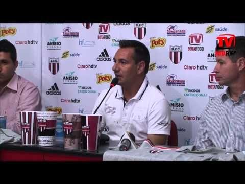 COLETIVA: Doriva é o novo técnico do Botafogo para o Paulistão 2015