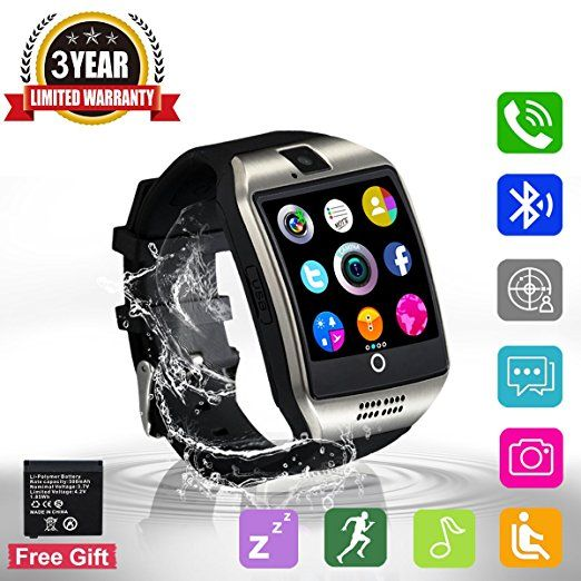 5e23e5995 Bluetooth Smart Watch Touchscreen with Camera