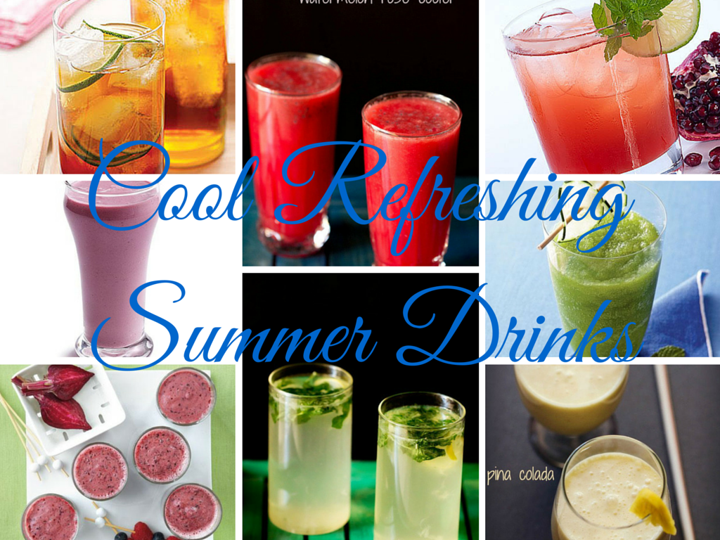 8 COLD DRINK TO COOL AND COMBAT THE SUMMER HEAT..