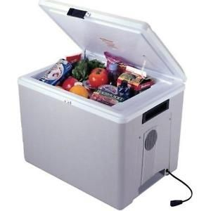Coleman Electric Cooler Powerchill 40 Quart Thermoelectric Ice Chest Guide Portable Cooler Car Cooler Camping Fridge