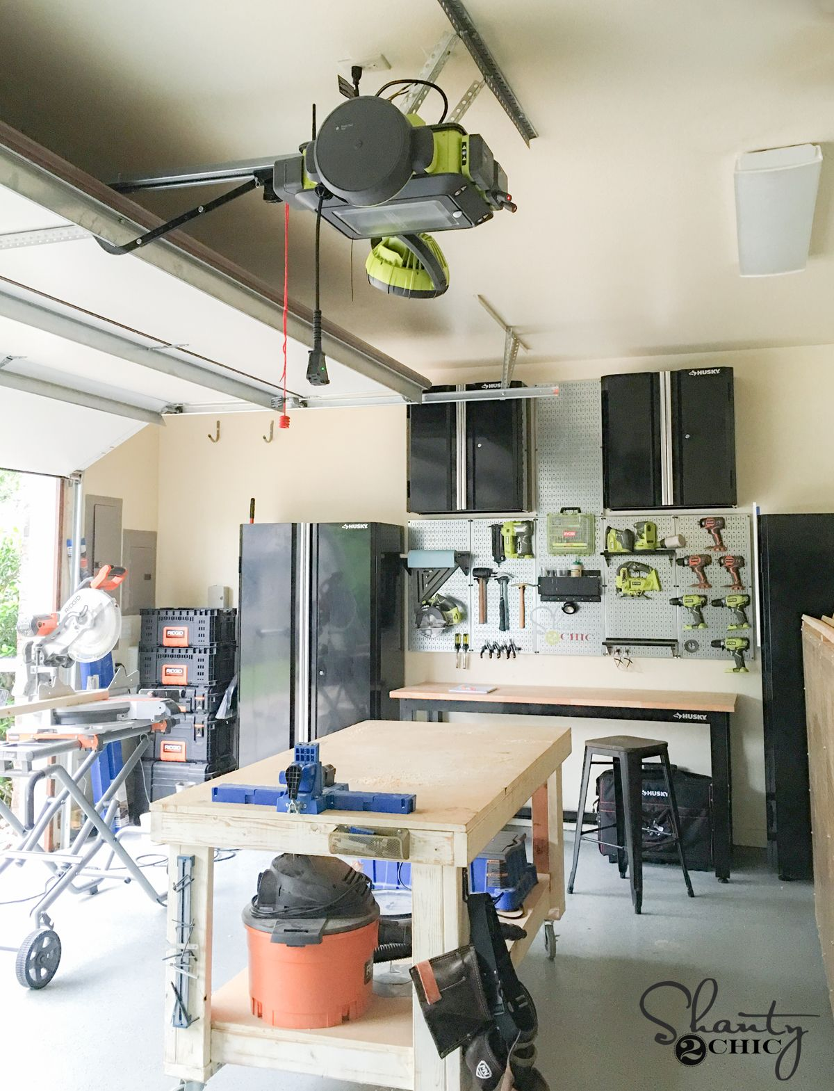 Ryobi Garage Door Opener Giveaway Organize Pinterest