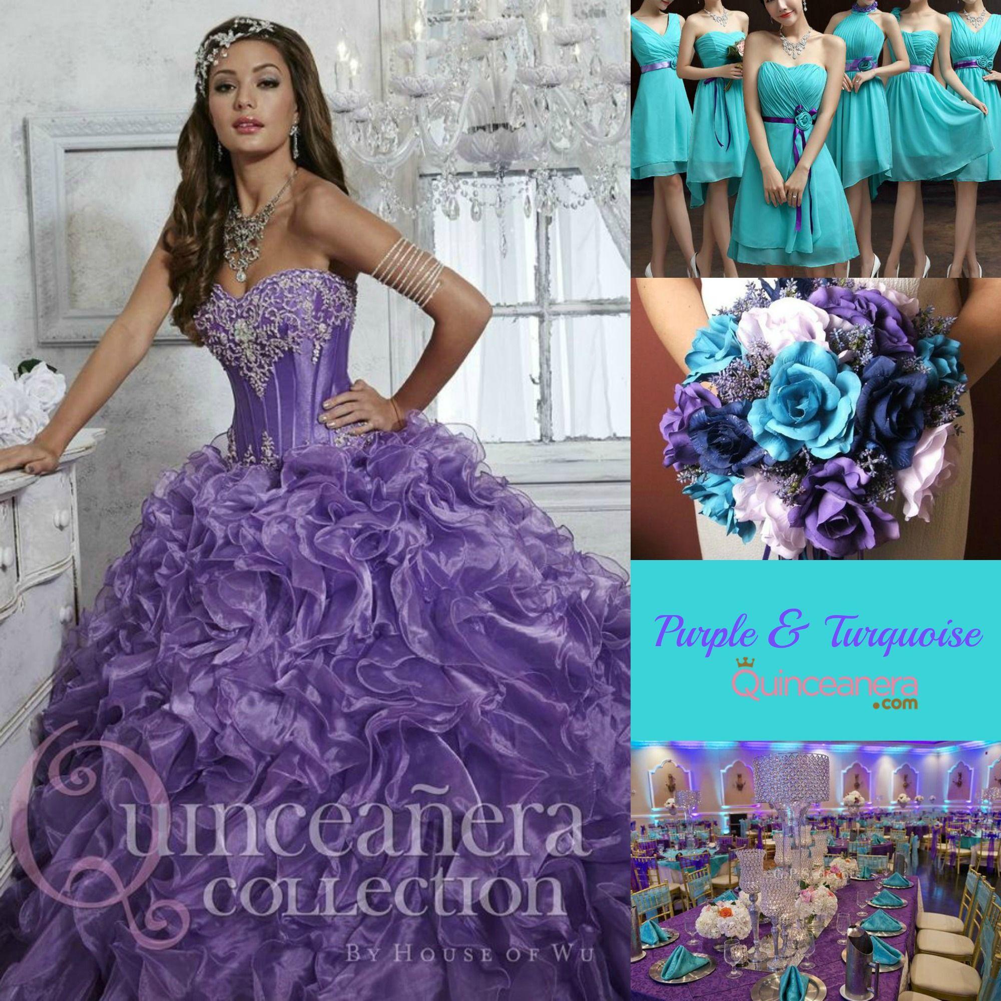 Quince Theme Decorations   Turquesa, Ideas y Decoración