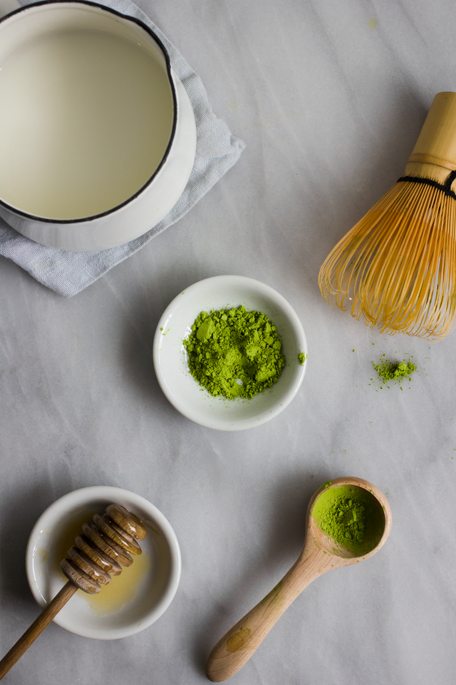 how to make green tea frappuccino at home