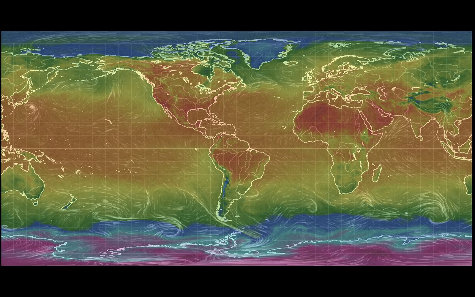 Shocking Global Map Shows The Extent Of A Global Heat Wave