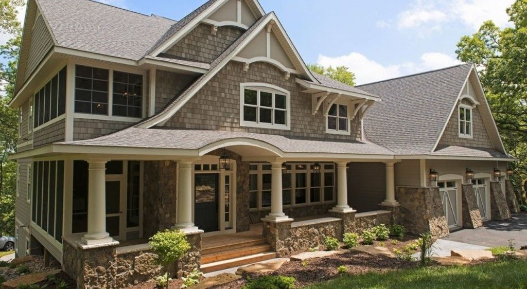 Best Complex Asphalt Shingles Roof With Cedar Shakes Siding 400 x 300