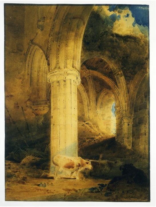 Cotman Ruins Of Rievaulx Abbey Rievaulx Abbey Wikipedia