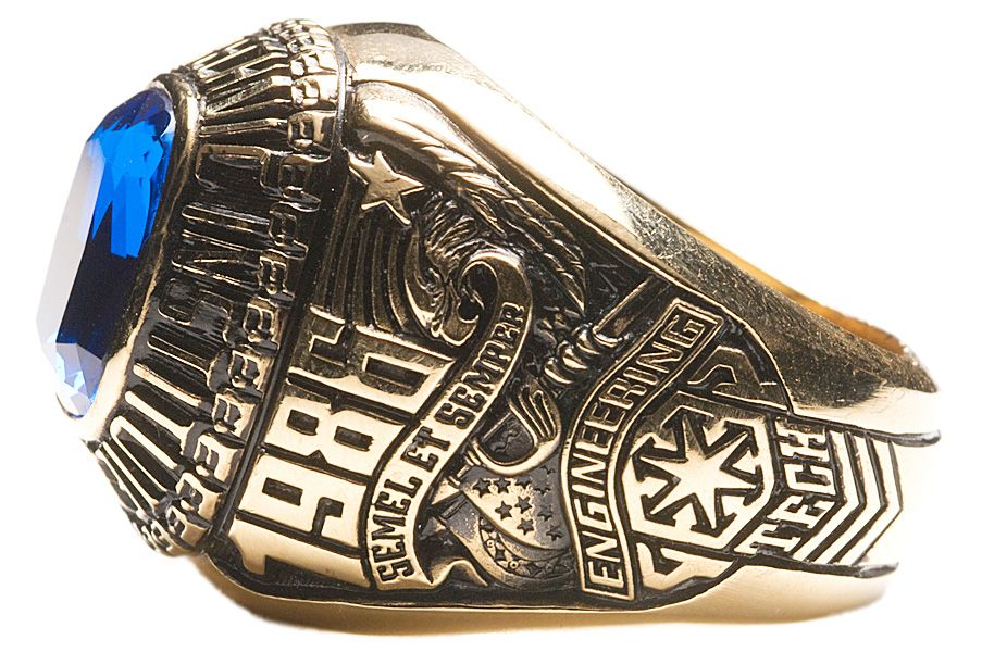 Class of 1986 class side in 2019 American ring, Rings