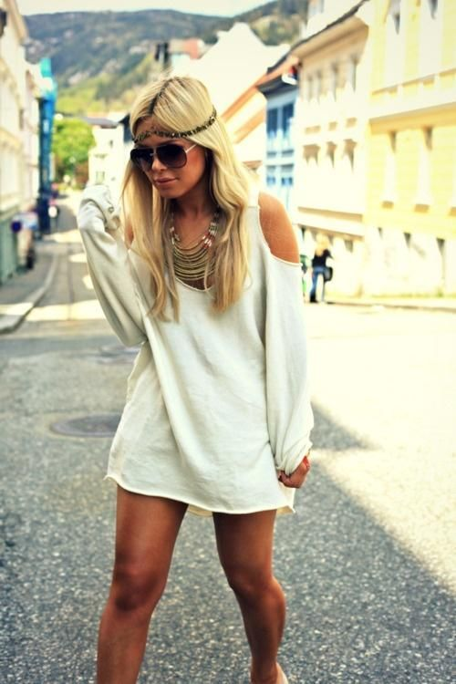 6da989695278 Summer Hipster Style. or with a pair of black leggings or