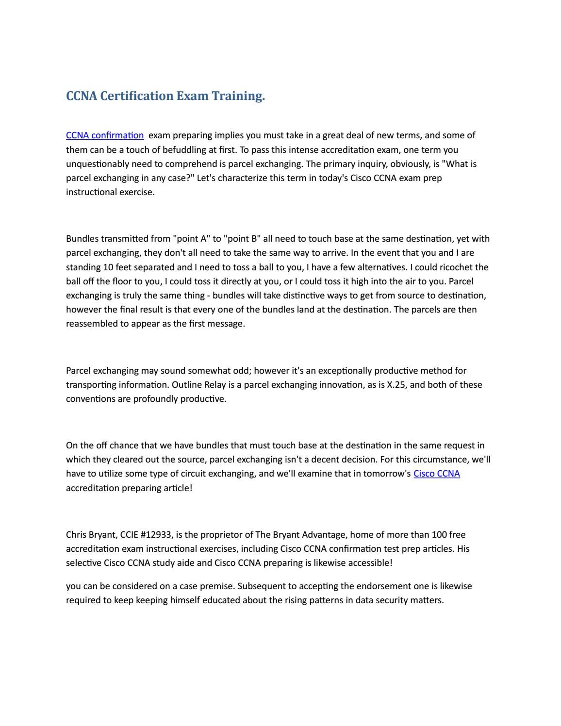 Certification exam training ccna certification exam training 1betcityfo Gallery