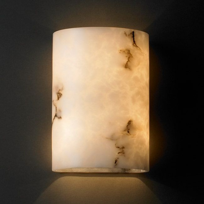 Justice Design Group Lumenaria 2 Light Ada Wall Sconce Faux
