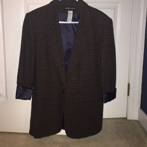 Sag Harbor Plaid Blazer Sag Harbor Plaid Blazer size 8 Sag Harbor Jackets & Coats Blazers