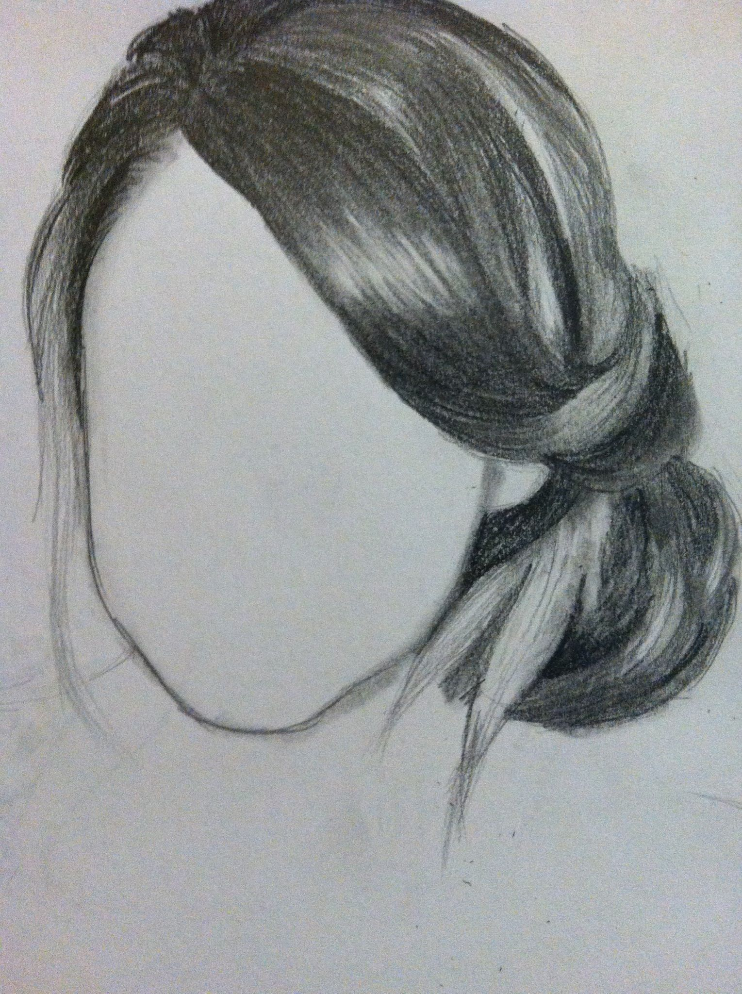 How to Draw Hair Arte Pinterest