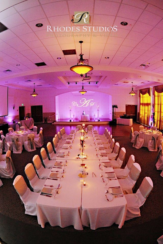 Lake Mary Events Center Orlando With Monogram And Led