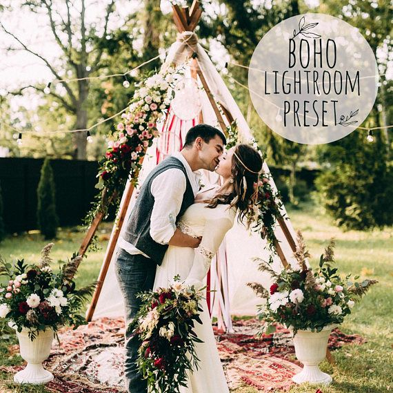 Boho Wedding Lightroom Outdoor Basic Preset Film 5 6 СС Presets