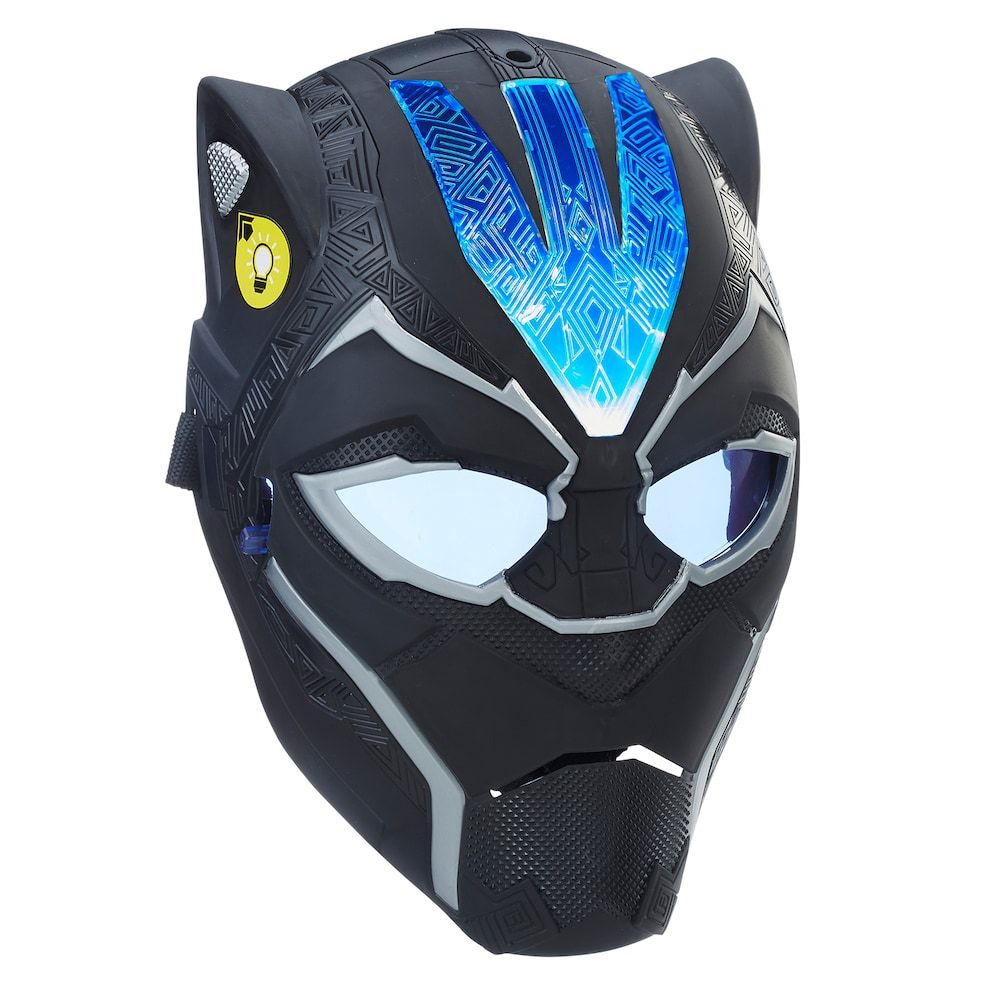 Marvel Black Panther Vibranium Power Fx Mask Black