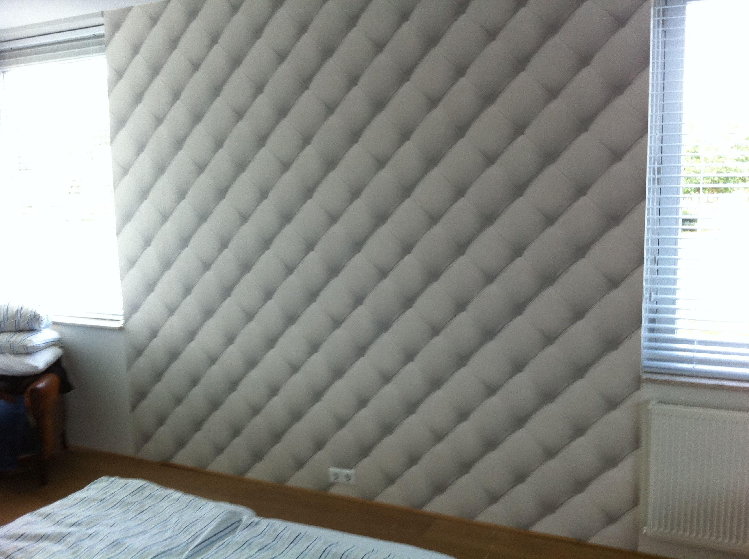 Slaapkamer behangen achter bed | Behang / foto behang / Full color ...