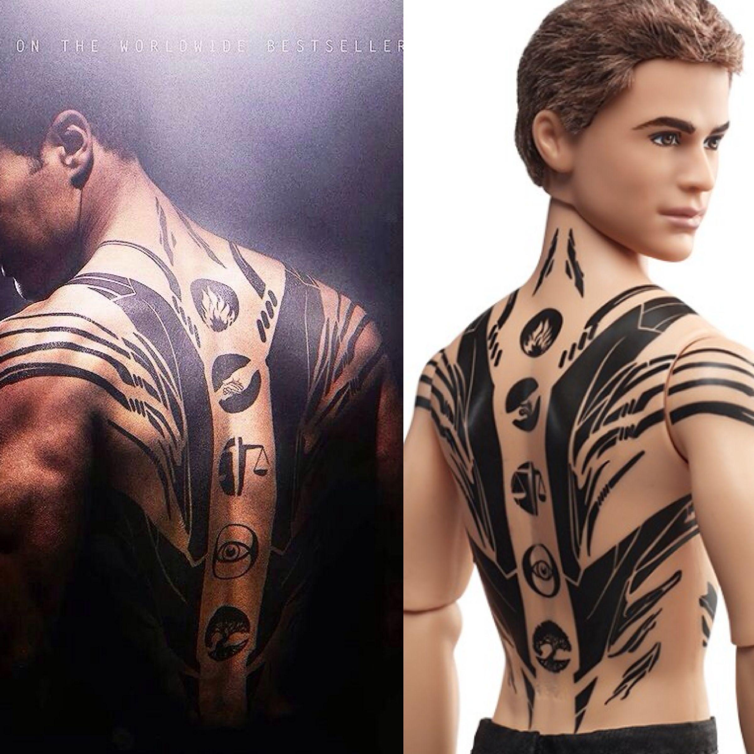 divergent four tattoo - Google Search | Fashion
