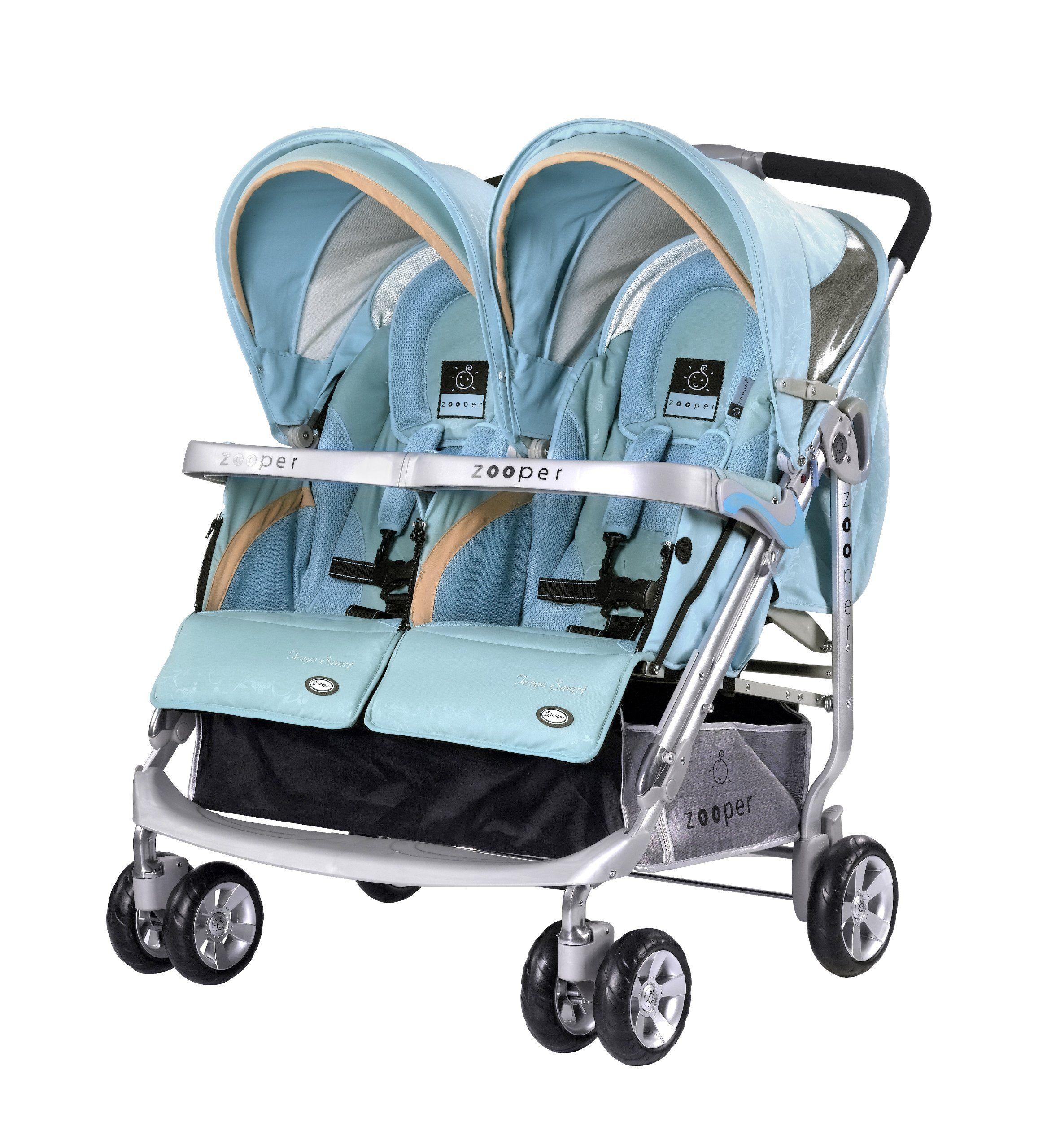 Zooper Tango Smart Stroller, Cyan Double strollers, Stroller