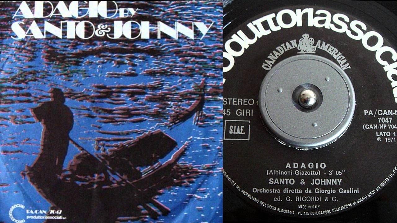Santo & Johnny - ADAGIO  (Albinoni / Giazotto)
