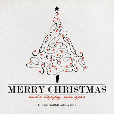 Black and White Christmas cards from Modern Greetings Winter Gift - christmas cards black and white
