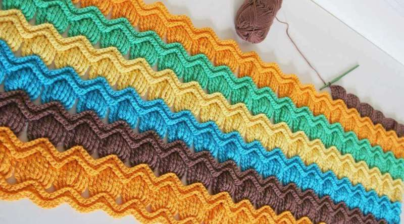 Vintage Fan Ripple Crochet Pattern Free Patterns For Beginners