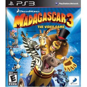 Madagascar 3 Video Game PS3 Playstation 3 GAMES Pinterest