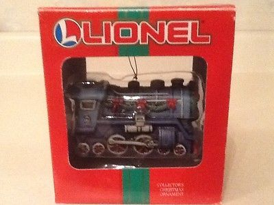 Lionel 37-619 locomotive #train porcelain #collectors christmas #ornament nib,  View more on the LINK: http://www.zeppy.io/product/gb/2/162192112652/