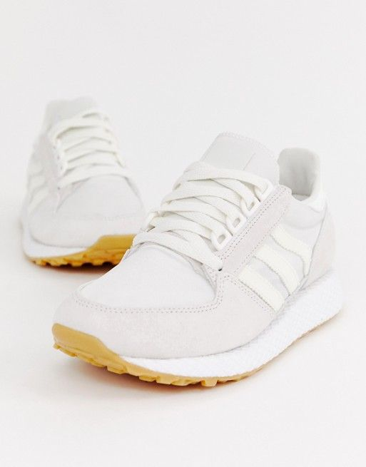 promo code fd678 f0171 adidas Originals white Forest Grove sneakers