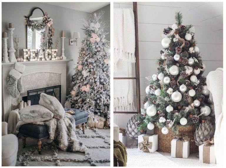 7 Best Modern Christmas Tree Ideas Decorilla Online Interior Design Modern Christmas Tree Contemporary Christmas Trees Christmas Tree