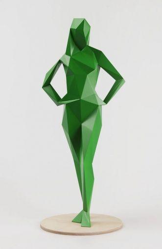 Xavier Veilhan - Alice (Vert) | Oeuvre d'Art en Vente Artsper