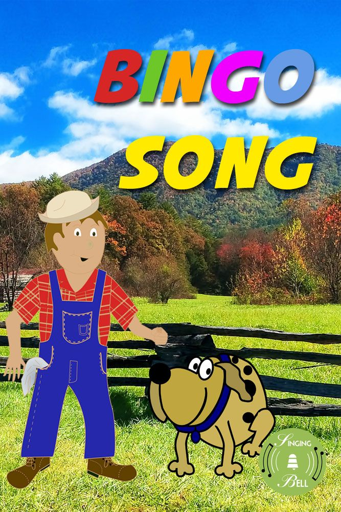 Bingo Song Bingofree Nursery Rhymeschildren