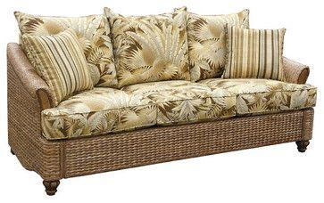 scheme c wicker sleeper sofas beach style products other metro rh pinterest com Wicker Rattan Sofa Sleeper wicker sectional sleeper sofa