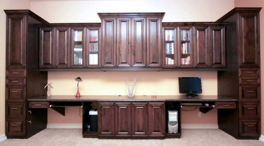home office workstation. 11 Executive Twin Workstation Office.jpg (920×508) | Built-in Office Pinterest Loft Spaces, Sliding Glass Door And Doors Home K
