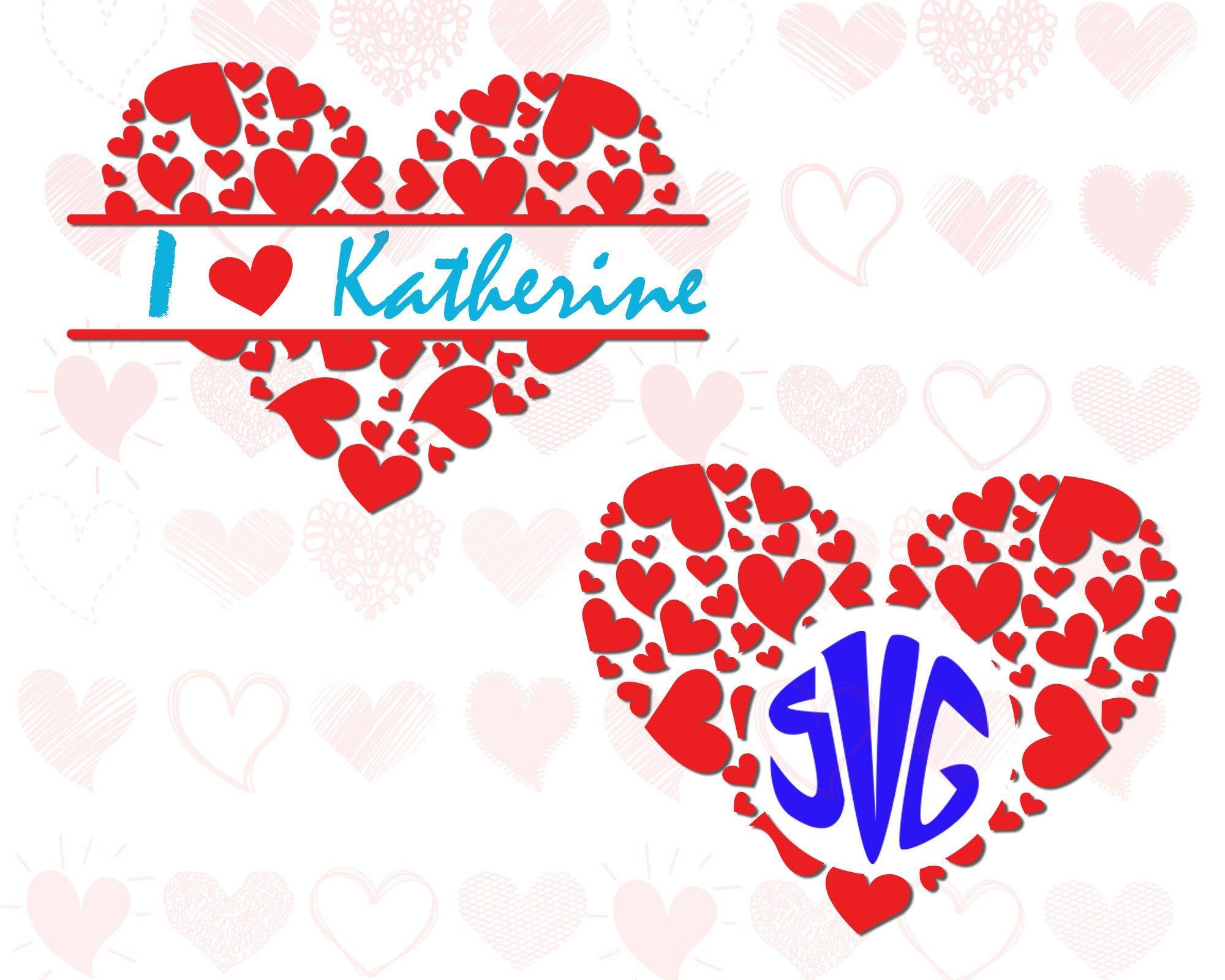 Heart Monogram Svg Valentine Monogram Frame Svg Hearts In Heart Monogram Frame Svg Valentine Frame Svg Cute Hea In 2020 Valentines Svg Valentines Frames Monogram Frame