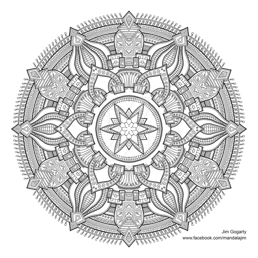 - Mandala-jim: Preview Of Advanced Mandala A3... - Halfmoon-mandalas